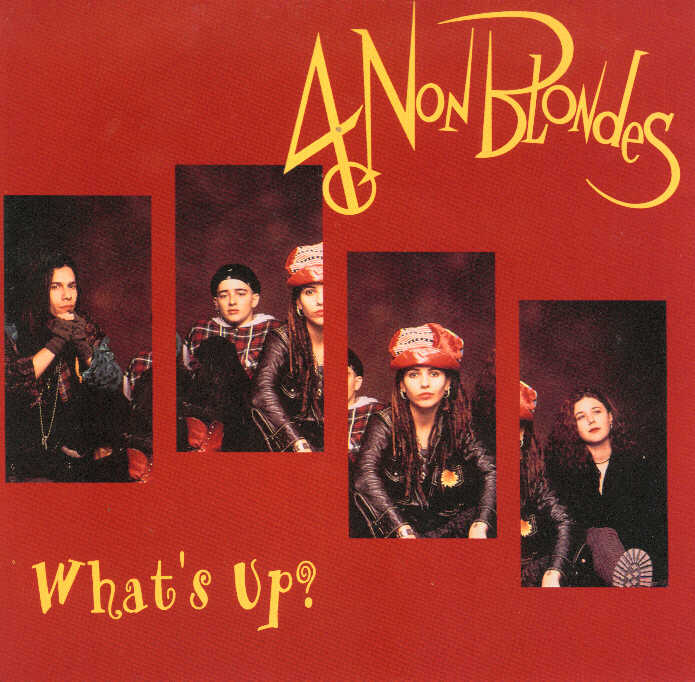 what's up 4 non blondes copertina