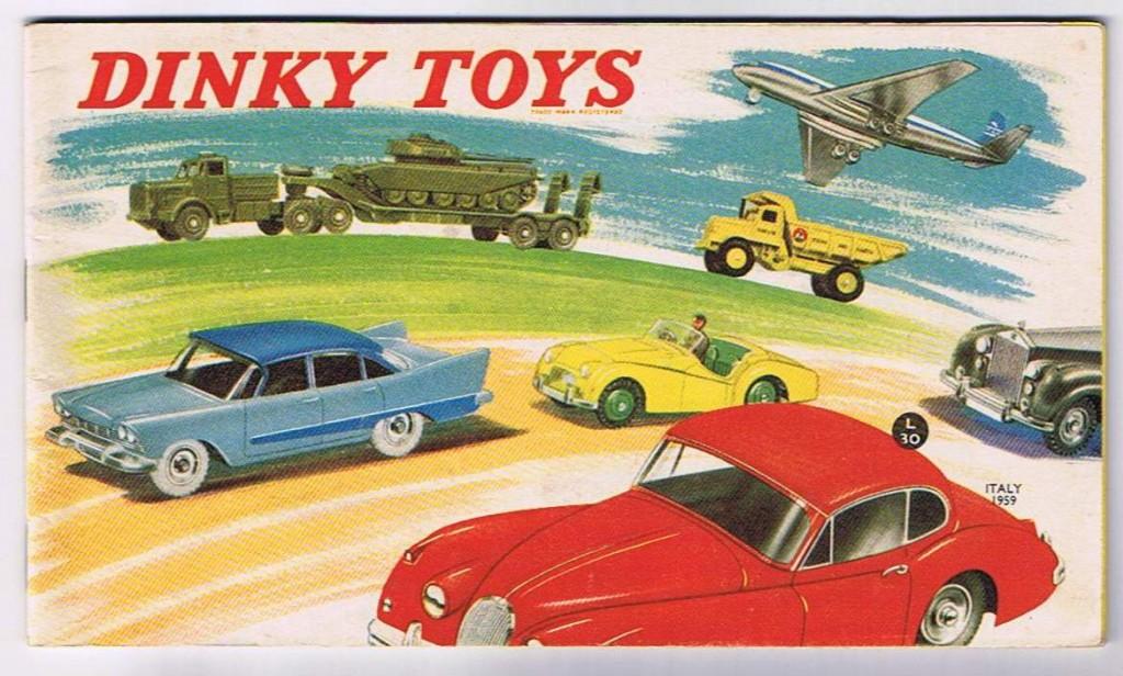 dinky toys catalogo 1959