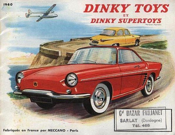 Dinky Toys catalogo 1960