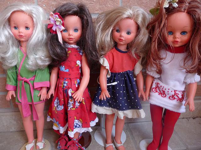 bambola furga paola peonia perla pritty vintage