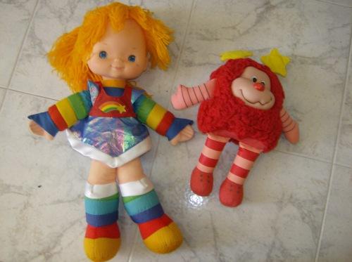 iridella bambola giocattolo vintage