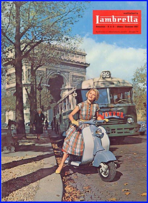 Lambretta- pubblicita epoca
