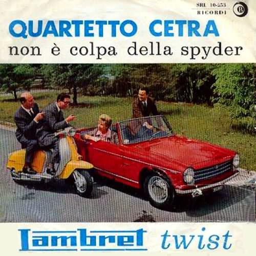 lambretta 45 giri twist quartetto cetra copertina