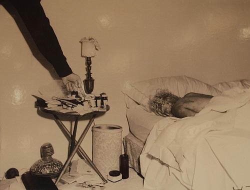 Marilyn Monroe morta