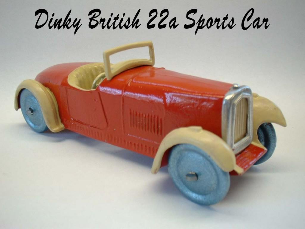 dinky toys modello 22 sports