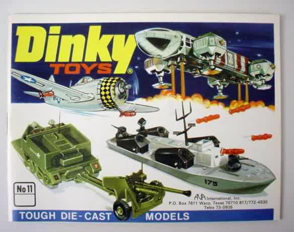 dinky catalogo 1975