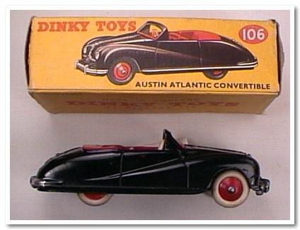 dinky toys austin atlantic convertibile