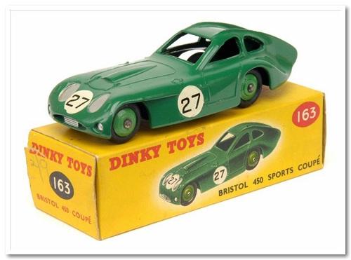 dinky bristol 450 coupé