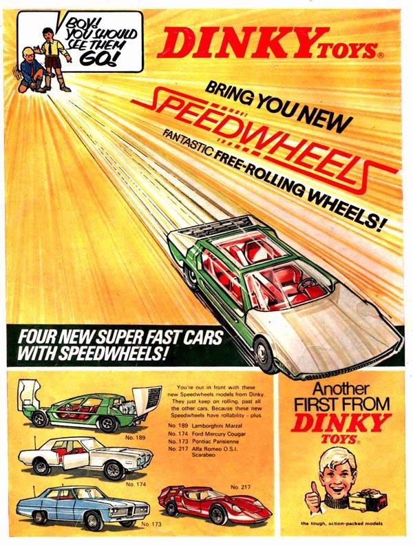 dinky toys speedwheels