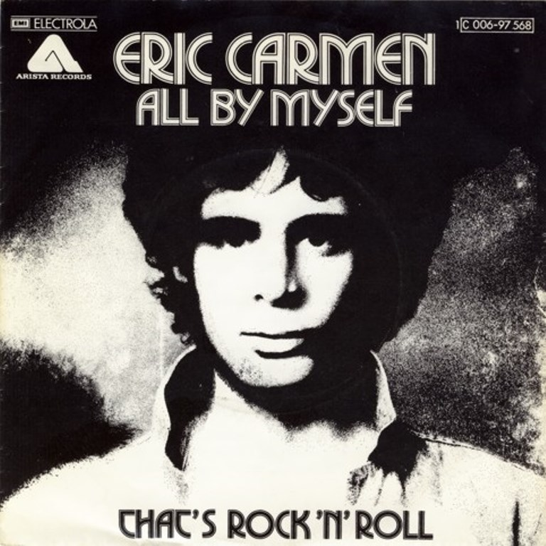 eric carmen all by myself arista COPERTINa