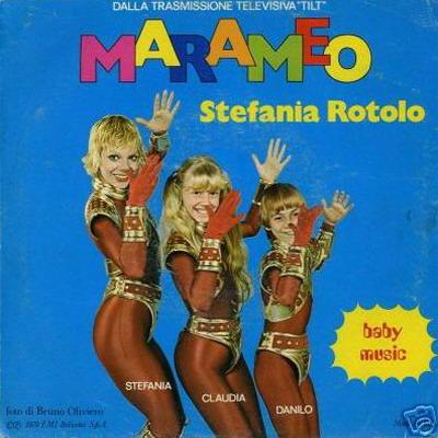 La sigla del programma Tilt Marameo di Stefania Rotolo