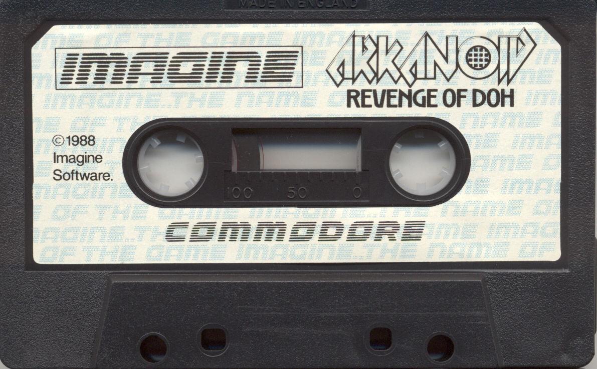 Arkanoid TheRevengeOfDohImagine Commodore
