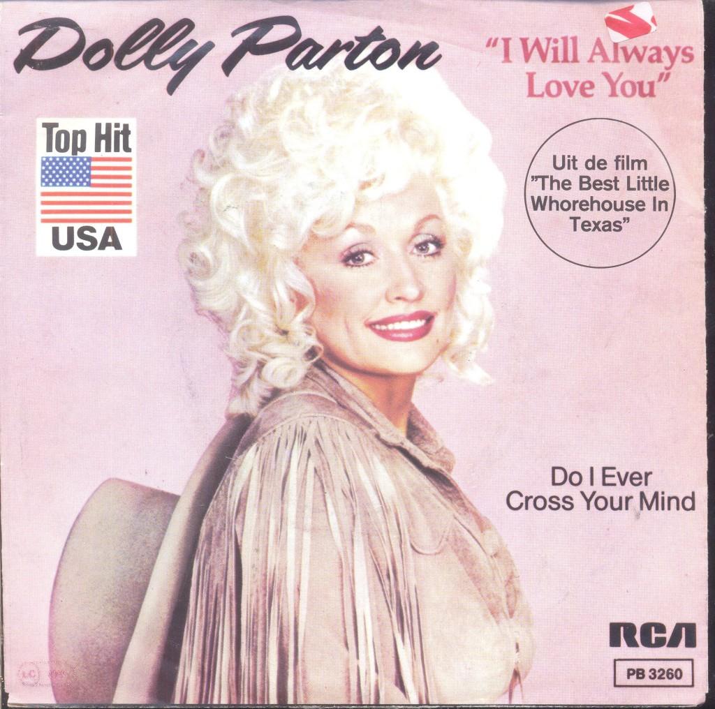 I WILL ALWAYS LOVE YOU dolly parton originale copertina