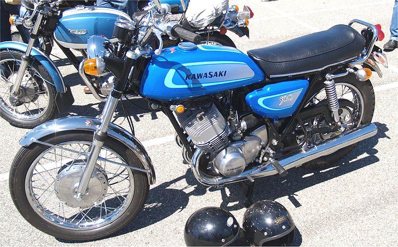 Kawasaki_500_Mach_III_H1A 1970