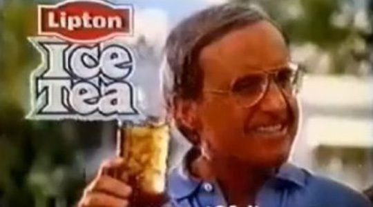 LIPTON TEA e ICE TEA – Spot Dan Peterson – (Anni 80/90)