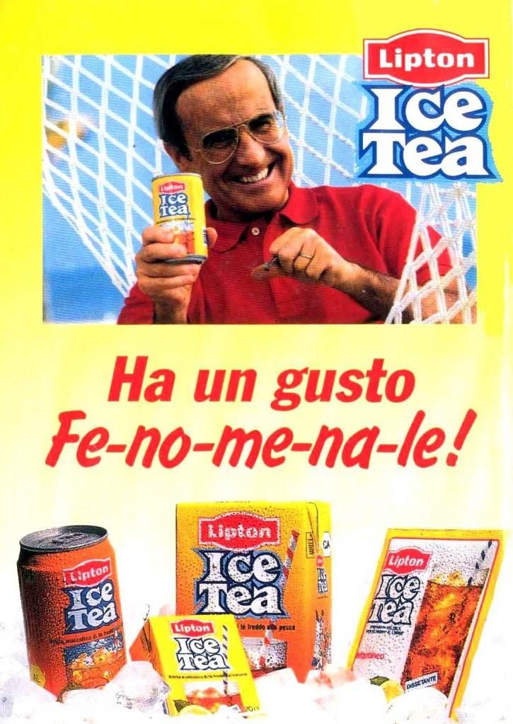 lipton ice tea dan peterson fenomenale numero uno