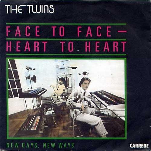 face to face dei twins copertina