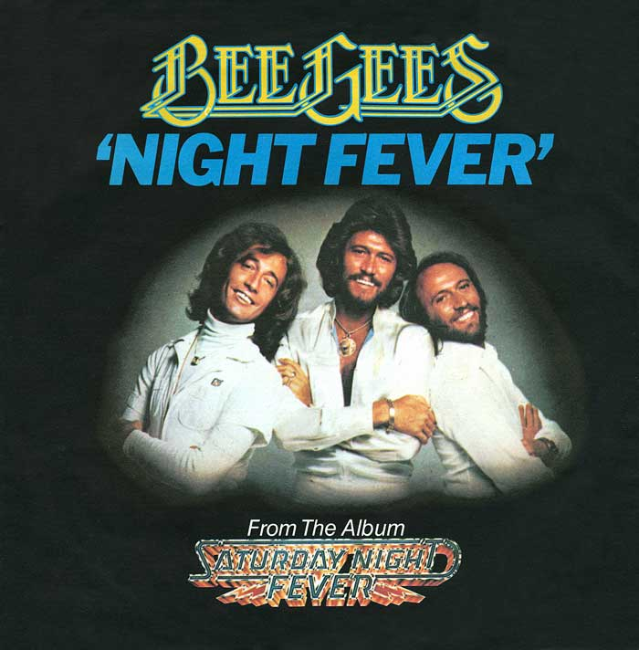 Stayin Alive Night Fever Bee Gees 1978 Musica Anni 70