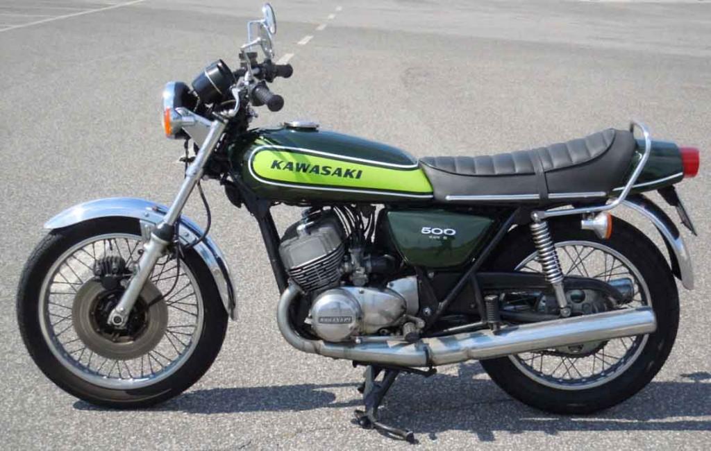 kawasaki 500 h1 mach III 1973