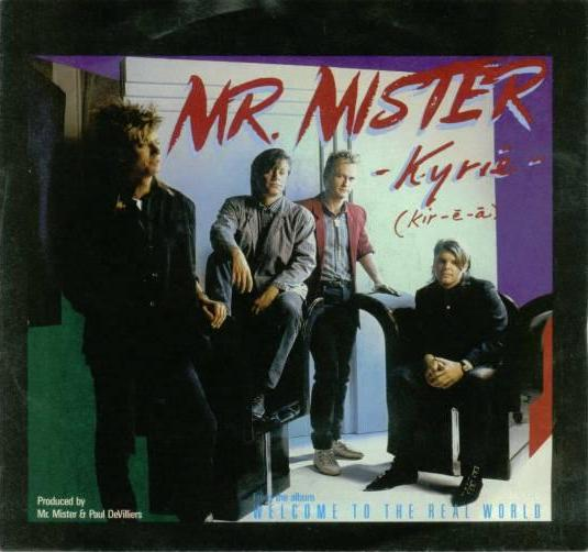 mr mister kyrie 1985 copertina
