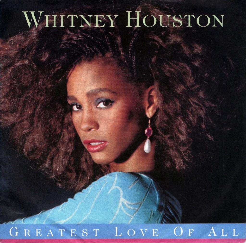whitney houston 1986 copertina
