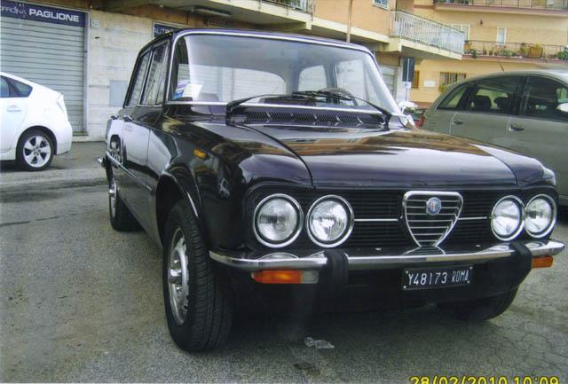 Alfa Romeo Giulia 1977