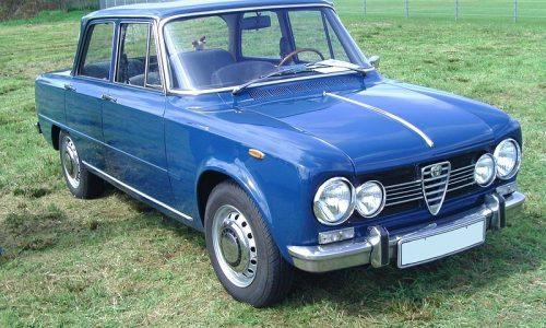 Storia dell'auto: ALFA ROMEO GIULIA