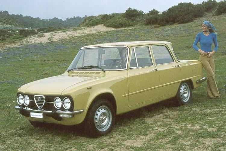 Alfa Romeo Giulia nuova super sprot 1974