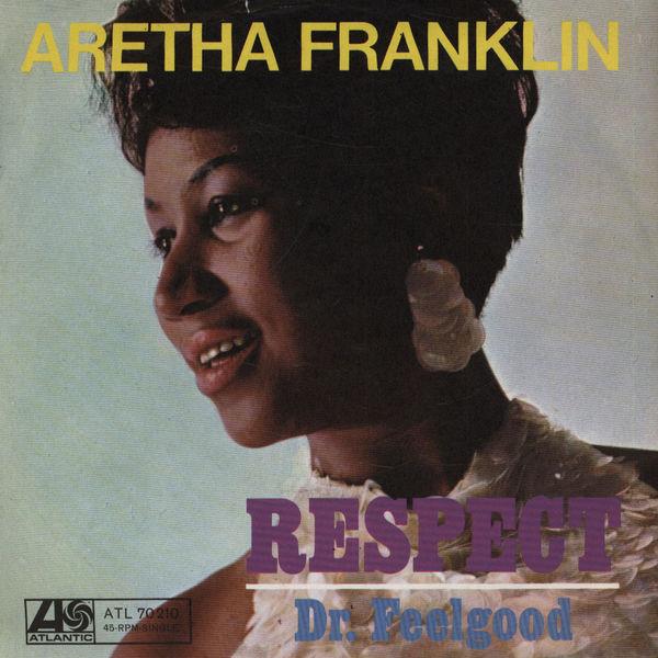 ARETHA FRANKLIN RESPECT COPERTINA
