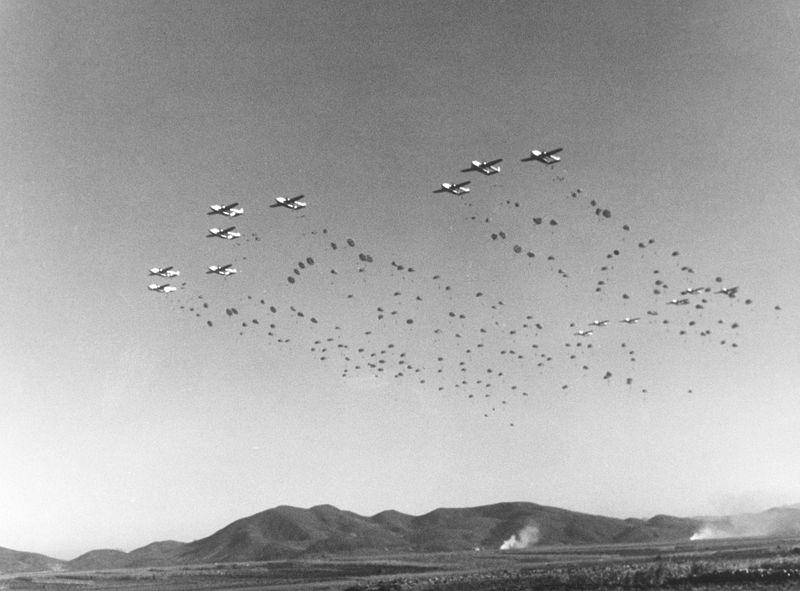 fairchild c-119 in azione korea 1952