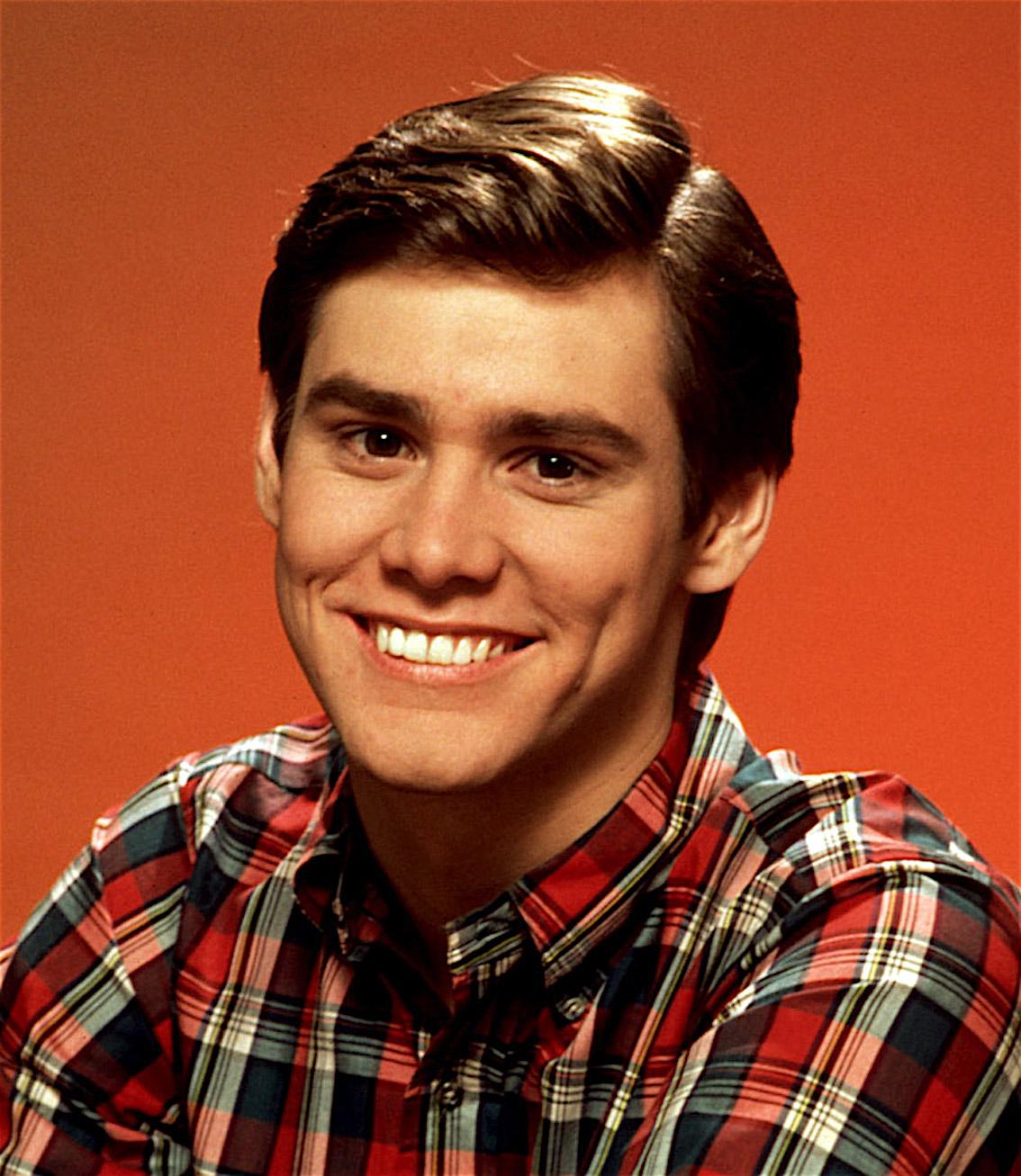 Jim-Carrey-giovane