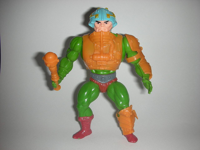 MASTERS OF THE UNIVERSE MAN AT ARMS
