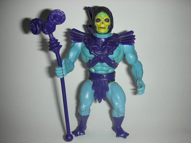 MASTERS OF THE UNIVERSE SKELETOR