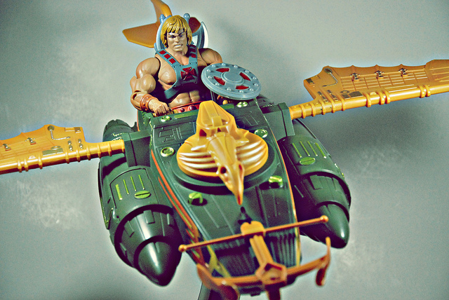 MASTERS OF THE UNIVERSE WIND RAIDER