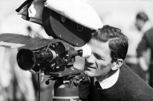 pier paolo pasolini set cinema