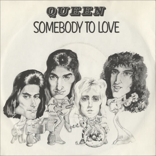 queen somebody to love copertina 45 giri