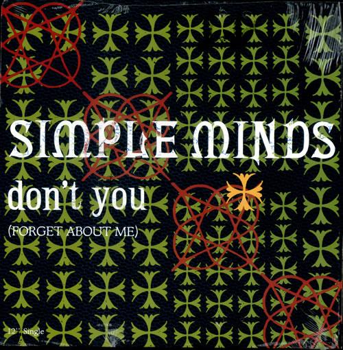 simple minds don't you copertina