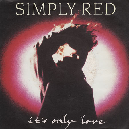 simply red is's only love copertina