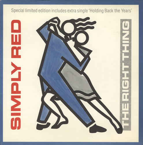 simply red the right thing copertina