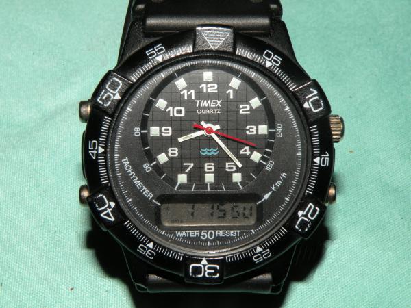 Timex digitale anni 70