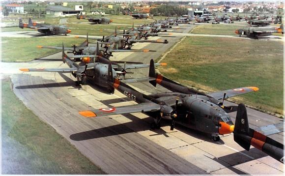 fairchild c-119 aerobrigata di pisa 1972