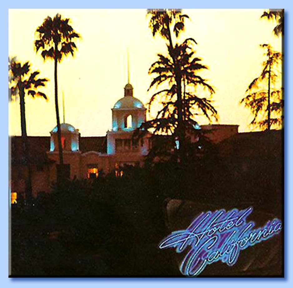 eagles hotel california copertina