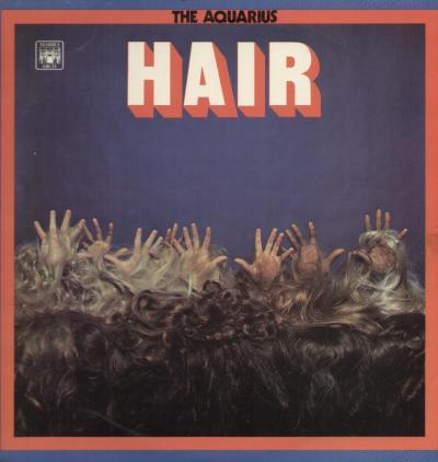 the aquarius hair copertina disco