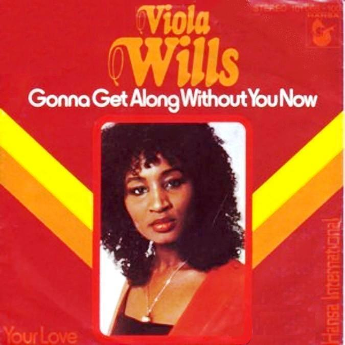 Viola Wills copertina di Gonna Get Along Without You Now