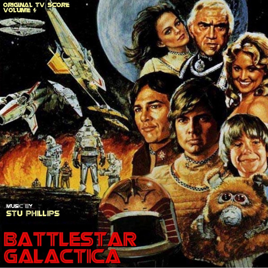 galactica locandina 1978