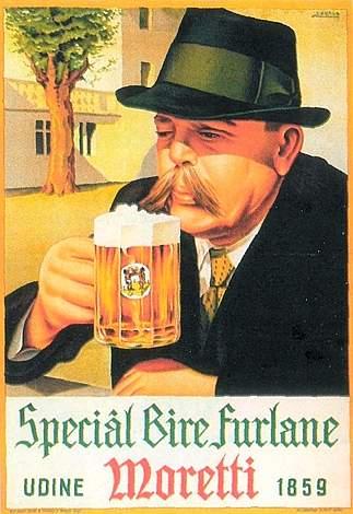 birra moretti pubblicità