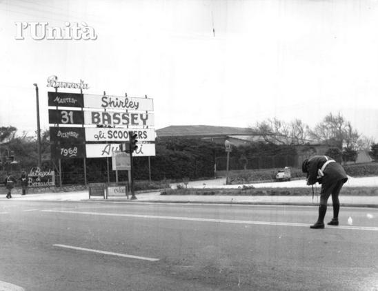 bussola 1968 disordini bassey