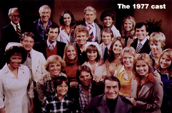 General Hospital cast 1977