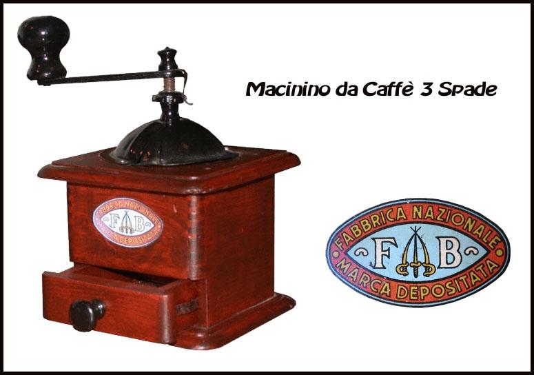 macinino 3 spade vintage