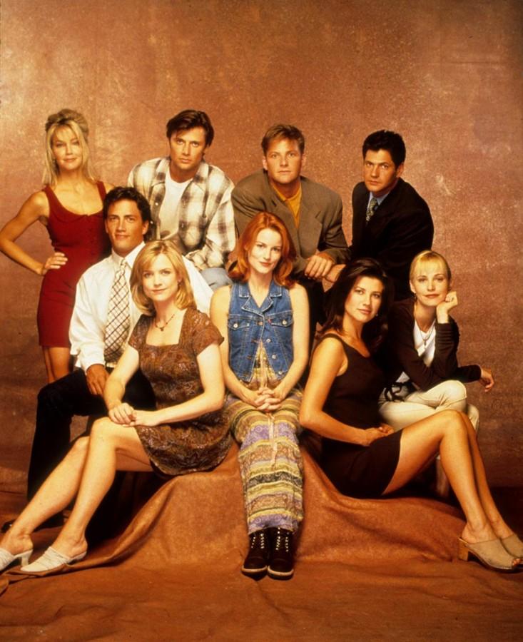 melrose place cast 1992 1999